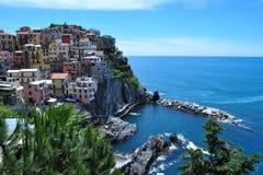 Manarola,Cinque Terre.Ligurien, Italien. Royalty Free Stock Photo