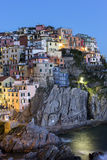 Manarola in Cinque Terre region in Italy Royalty Free Stock Images