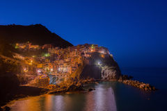 Manarola in Cinque Terrece Stock Photography