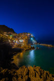 Manarola in Cinque Terrece Royalty Free Stock Image