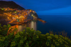 Manarola in Cinque Terrece Royalty Free Stock Photography