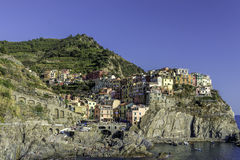 manarola de l'Italie photos stock