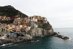 manarola de l'Italie image libre de droits