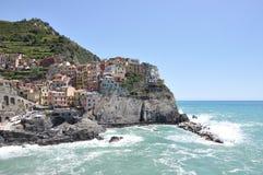 Manarola. Fishermen village. Cinque Terre region, Italy Royalty Free Stock Images
