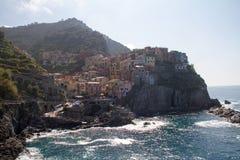 Manarola Italia Foto de archivo libre de regalías