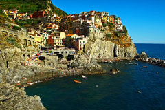 Manarola Italie Photographie stock libre de droits