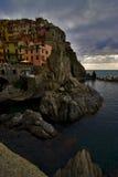 Manarola in Italien Lizenzfreie Stockbilder