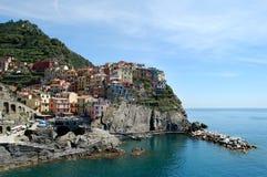 Manarola Italien Fotografering för Bildbyråer