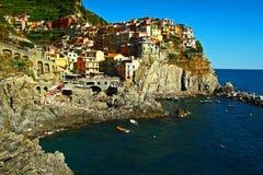Manarola Italien Lizenzfreie Stockfotografie