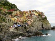 Manarola, Italien Stockfoto