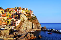 Manarola, Italy, Europe Stock Image