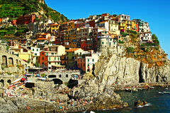 Manarola italy Royalty Free Stock Photos