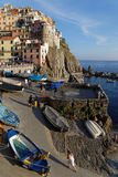 Manarola marina Stock Photography