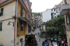 Manarola, one of the Cinque Terre villages, Italy Stock Images