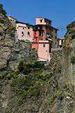 Manarola on the rocks Royalty Free Stock Photos