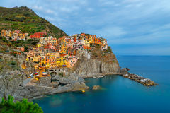 Manarola's lights Stock Image
