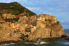 Manarola Seaport, Cinque Terre Royalty Free Stock Image