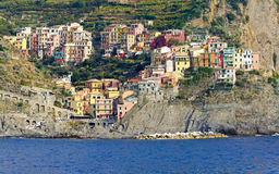 Manarola town Royalty Free Stock Photography