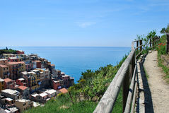 Manarola View Royalty Free Stock Photography