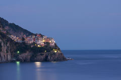 Manarola village Royalty Free Stock Image