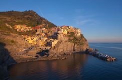 Manarola village Royalty Free Stock Photos