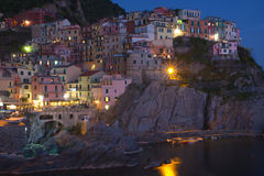 Manarola village Stock Images