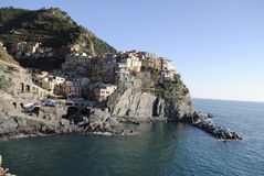 Manarola village Royalty Free Stock Images