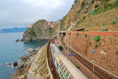Manarola village Stock Photography