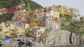 Manarola Village, Cinque Terre Italy beautiful Sunset