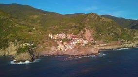 Manarola Village, Cinque Terre Coast of Italy. Manarola is a small town in the province of La Spezia, Liguria, northern