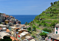 Manarola village, Cinque Terre, Italy Royalty Free Stock Photo