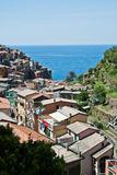 Manarola village, Cinque Terre, Italy Stock Images