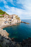 Manarola village and Cinque Terre Royalty Free Stock Images