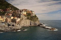 Manarola village, Italy Royalty Free Stock Photography