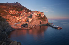 Manarola village, Italy Stock Photo