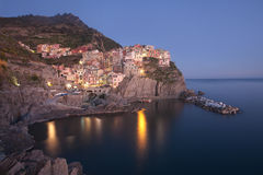 Manarola village, Italy Royalty Free Stock Photo