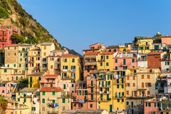 Manarola village Italy Royalty Free Stock Photos
