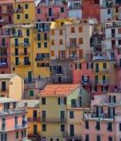 Manarolla, Cinque Terre, Italia Fotografie Stock Libere da Diritti