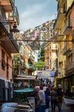 Manarolo, Cinqueterre, Italy Royalty Free Stock Image