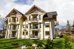 Manaru, residential House in Zakopane Stock Photo