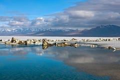 Manasarovar Lake, Tibet Royalty Free Stock Images