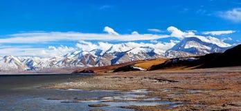 Manasarovar Lake, Tibet Stock Photography