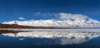 Manasarovar lake in Tibet Stock Images