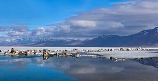 Manasarovar Lake, Tibet Stock Images