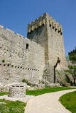 Manasija castle Stock Image