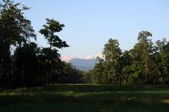 manaslu尼泊尔 图库摄影