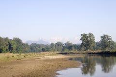 manaslu尼泊尔 免版税库存图片