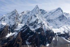 manaslu halni Nepal pobliża Obrazy Stock