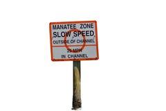 Manatis-Zone Stockfotografie