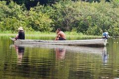 manaus łódkowaty drewno Fotografia Stock